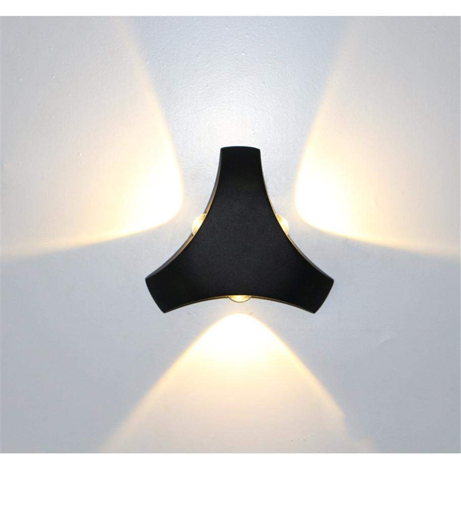Ehime Wandspots Wandbeleuchtung Runde Wandlampe der Hauswandflutlichter beleuchtet kreative Nachttischlampe der Innenbeleuchtungswandlampen-Stange kreative