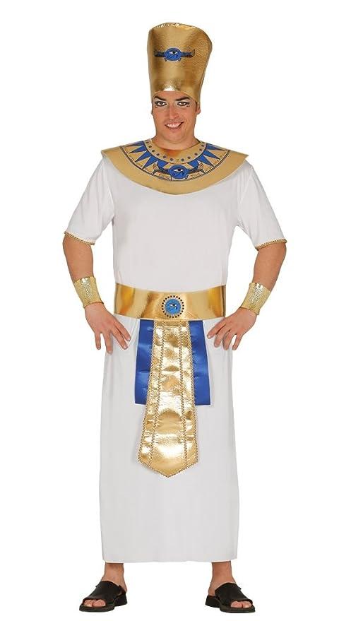 Fiestas Guirca Costume Faraone Egiziano Uomo  Amazon.it  Sport e ... a56e391421f
