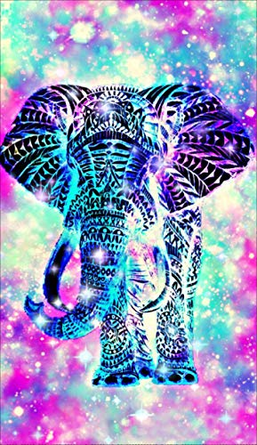 DIY 5D Diamond Painting Kits Full Drill, Astory Rhinestone Crystal Embroidery Pictures Cross Stitch for Home Room Decoration Colorful Elephant 3048 cm (11.818.9inch) ()