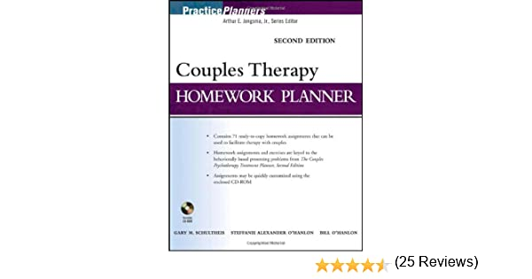 Brief Couples Therapy Homework Planner (PracticePlanners) - Kindle ...