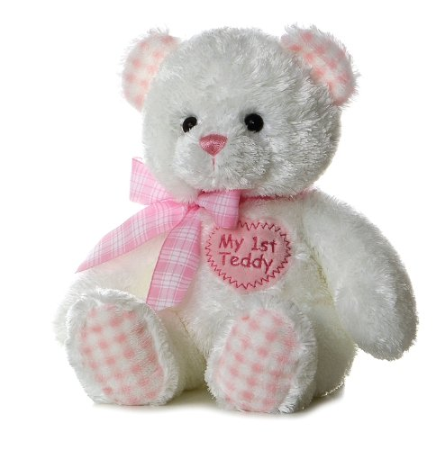 Plush-Baby-14-Pink-My-First-Teddy-Bear