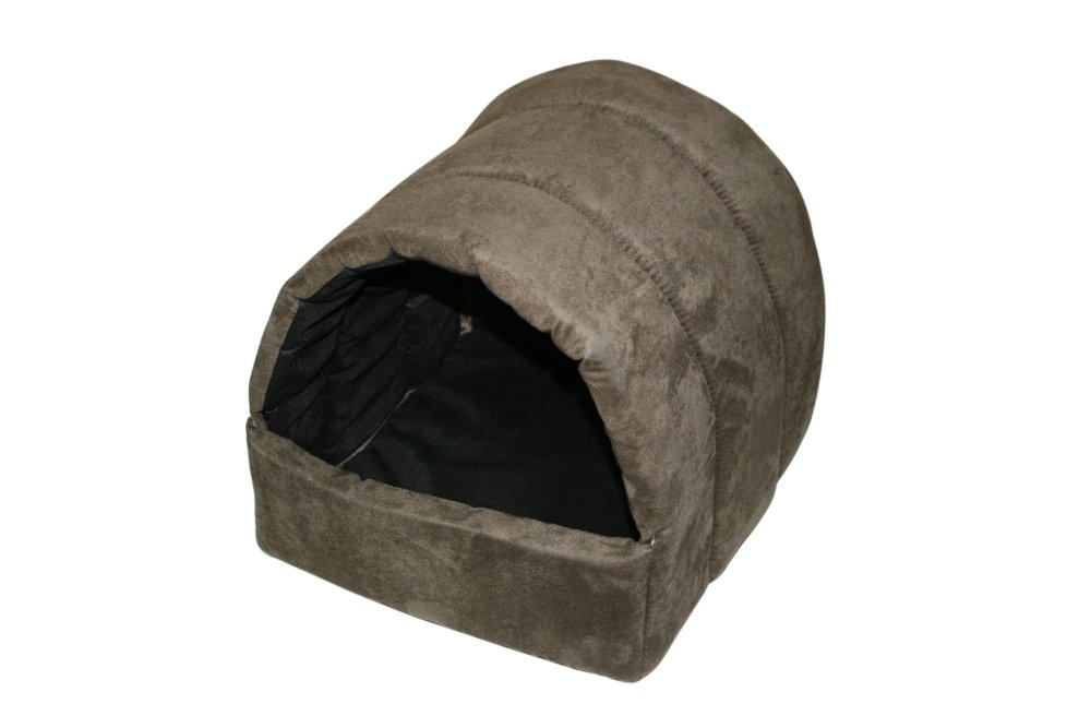 Green North American Pet Products Kitty Cave, Sage Green