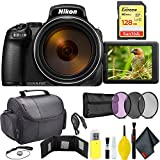Nikon COOLPIX P1000 Digital Camera + 128GB Sandisk Extreme Memory Card Travel Kit International Model For Sale