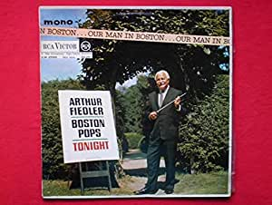 Fiedler, Arthur & Boston Pops Our Man In Boston LP RCA
