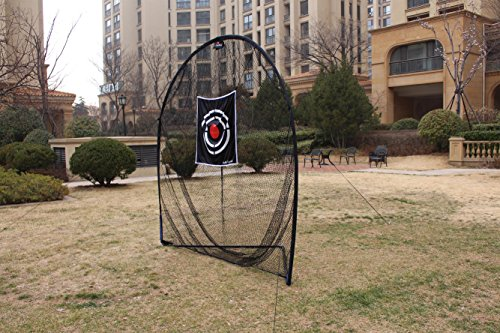 Galileo Golf Swing Net Training Hitting Practice Nets for Backyard Driving Indoor Use with Target&Carry Bag 8'x8'x4' by Galileo Thought (Image #2)