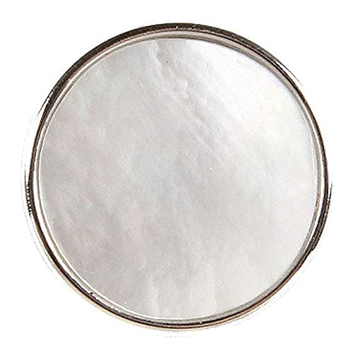 Noosa morceau Perla blanc perle