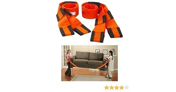 Easymove - Correas con asas para transportar muebles y enseres, 2 piezas