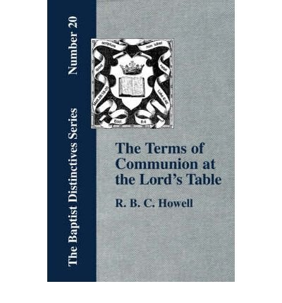 Download The Terms of Communion at the Lord's Table (Paperback) - Common PDF
