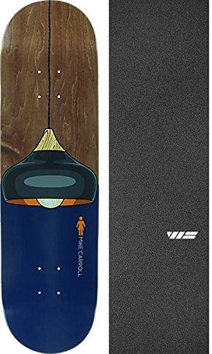 誓約音シルエットGirl Skateboards Mike Carroll Illuminatedスケートボードデッキ – 8.37