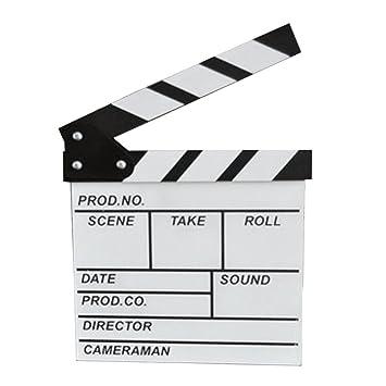 Tablero de madera Tablero Pizarra Director de cine Accesorio ...