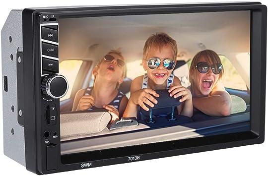 Pantalla táctil de 7 Pulgadas HD Coche Bluetooth Auto Radio Video MP5 Reproductor de MP3 Soporte para Tarjeta TF Estéreo Multimedia Universal para Auto con Control Remoto.: Amazon.es: Electrónica
