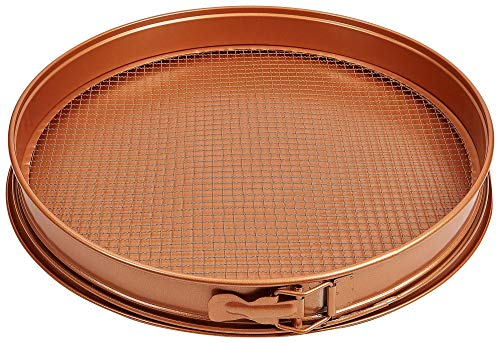 TRISTAR PRODUCTS CCPP-12 3 Piece Copper Chef pizza crisper pan,