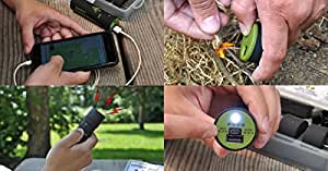 SurviVolts Power Bank and Mult-E-Tools: Survival Tool/ Emergency Preparedness Kit. Power Bank Plus USB Attachment Tools. Ultimate Outdoor Backpacking Hiking Camping Multitool!