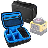 Protective EVA Action Camera Case (in Blue) for the Kodak PixPro SP360 - by DURAGADGET