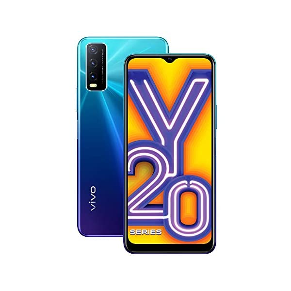 Vivo Y20i (Nebula Blue, 3GB RAM, 64GB Storage) with No Cost EMI/Additional Exchange Offers 2021 August 13MP+2MP+2MP rear camera , 8MP front camera 16.55 centimeters (6.51 inch) HD+ display with 720 x 1600 pixels resolution Memory, Storage & SIM: 3GB RAM , 64GB internal memory expandable up to 256GB , Dual SIM (nano+nano) dual-standby (4G+4G)