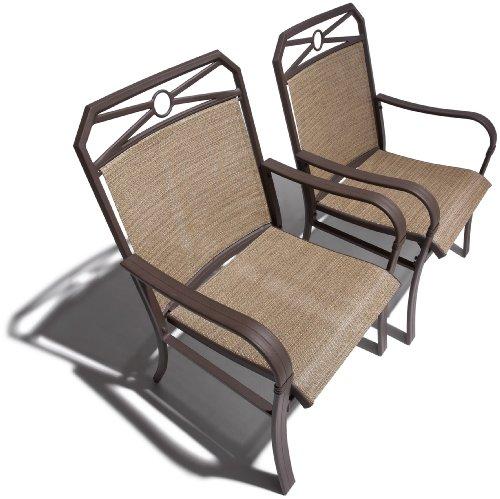 Strathwood Rawley Sling Chair, Set of 2