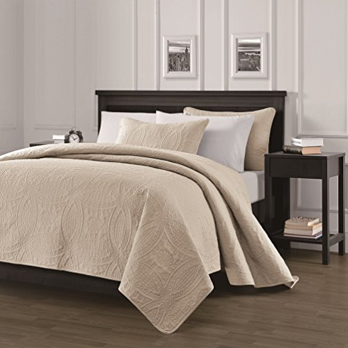 pinsonic quilted austin oversize bedspread