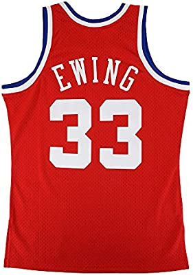 726d0758f Mitchell   Ness Patrick Ewing 1989 NBA All Star East Swingman Red Jersey  Men s. Loading Images... Back. Double-tap to zoom