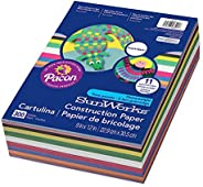 SunWorks PAC6525 Construction Paper, 11 Assorted Colors, 9
