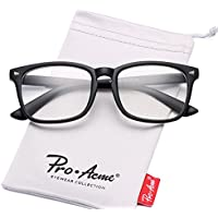Pro Acme New Wayfarer Non-prescription Glasses Frame Clear Lens Eyeglasses
