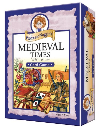 Professor Noggin's Medieval Times - A Educational Trivia Based Card Game For Kids