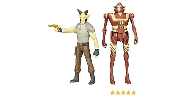 Hasbro Star Wars Figuras Pack 2 Cikatro Vizago & Ig-Rm: Amazon.es: Juguetes y juegos