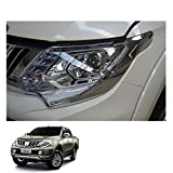 Powerwarauto Set Head Lamp Lights Cover Trim for