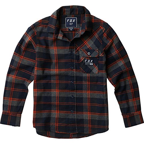 Fox Racing Big Boys' Drezzy Flannel Button Up L/S (Fox Racing Casual Wear)
