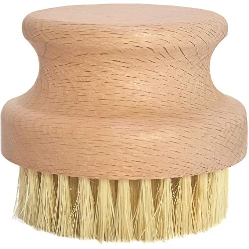 Price comparison product image Natural Wood Scrub Brush by Cast Iron Sam's. Keep your Skillets,  Grill Pans and Dutch Ovens Clean- Safe for Enameled Cast Iron