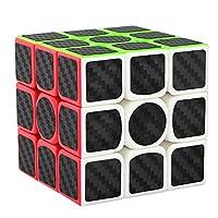 Dreampark 3x3x3 Speed Cube Pegatina de fibra de carbono Smooth Magic Cube Puzzles
