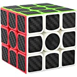 Dreampark 3x3x3 Speed Cube Carbon Fiber Sticker Smooth Magic Cube Puzzles