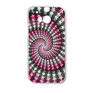 Polka Dot Design HTC One M8 Cell Phone Case White