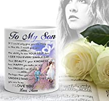 Coffee Mug, To My Son - Love Mom, Gift for Son, Mom 11 oz