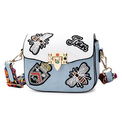 Designer Bag Single body Shoulder Fashion Handbag Bags Messager Womens Blue Cross zOwA54