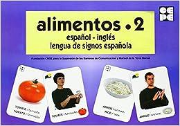 PDF Descargar Alimentos 2. Baraja Español-inglés. Lengua De Signos