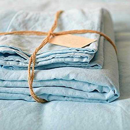 Lausonhouse Luxurious 100% Pure French Linen Sheet Set