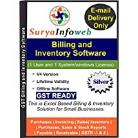 SuryaInfoweb Billing and Inventory Software for Retail Business(Silver)