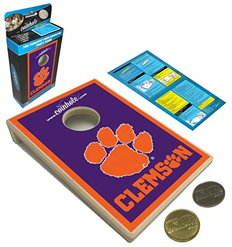 Coinhole Collegiate NCAA Game (Clemson University Tigers)