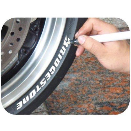 Keiti Motorrad Auto Roller Reifen Stift Reifenmarker Reifenstift TP300Y GELB