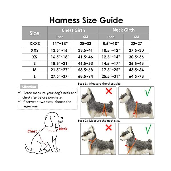 Slowton Dog Car Harness Plus Connector Strap, Multifunction Adjustable Vest Harness Double Breathable Mesh Fabric Car… Click on image for further info. 5