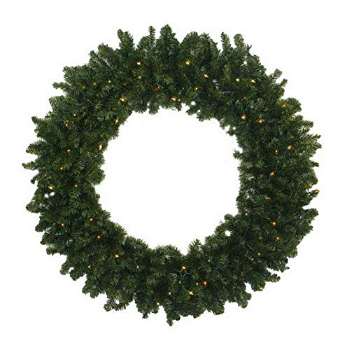 (Mikash 72 in. Prelit Commercial Artificial Canadian Pine Christmas Wreath | Model WRTH - 506)