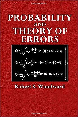 Ebooks télécharger un bocal gratuitement Probability and Theory of Errors (Mathematical Monographs) (Volume 7) (Littérature Française) PDF ePub MOBI 1515116328