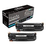 NoahArk Compatible for HP CF279A 79A Toner Cartridge Work for HP LaserJet Pro M12w M12a, MFP M26nw M26a Printer (2 Packs Black)