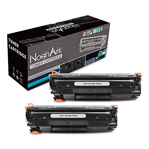 NoahArk Compatible for HP CF279A 79A Toner Cartridge Work for HP LaserJet Pro M12w M12a, MFP M26nw M26a Printer (2 Packs Black) by NoahArk
