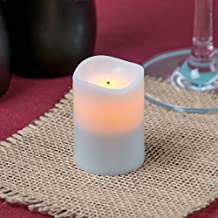 Sterno Products 60134 Amber Rechargeable Flameless Replacement Votive - 4/Pack