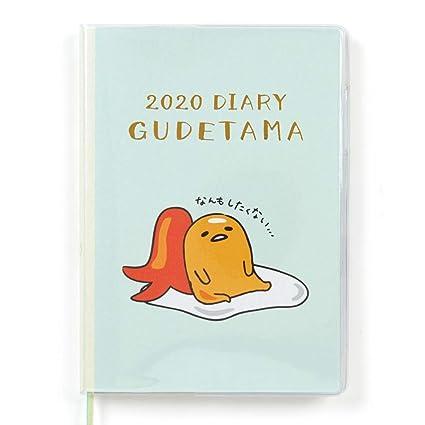 Amazon.com: Gudetama B6 Sanrio Character - Agenda (tipo 2020 ...