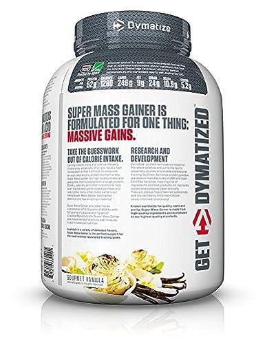 Dymatize Nutrition Super Mass Gainer Vanilla 2722g: Amazon.es: Salud y cuidado personal