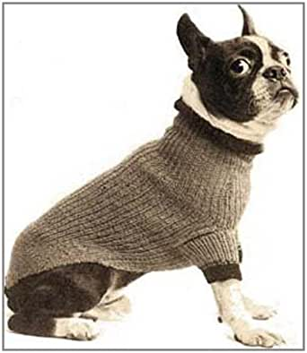 Dog Turtleneck Knitting Pattern : Boston Terrier Size Dog Blanket Turtleneck Sweater Coat ...