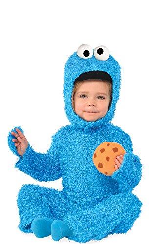 Baby Cookie Monster Costumes (HalloCostume Baby Cookie Monster Costume - Sesame Street)