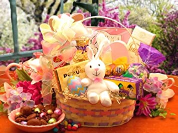 Amazon deluxe easter extravaganza gift basket for children deluxe easter extravaganza gift basket for children and family negle Image collections